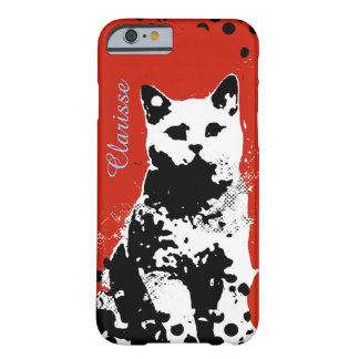 a cat barely there iPhone 6 case