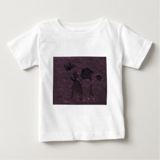 A CAT IN A HIGH WIND BABY T-Shirt