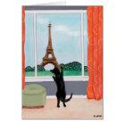 A Cat in Paris - Fine Art Greeting Card