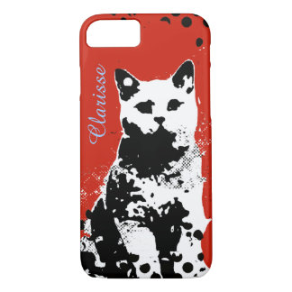 a cat iPhone 7 case