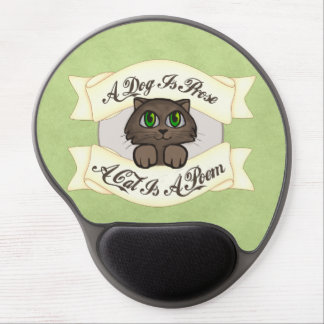 A Cat is A Poem Gel Mouse Pad