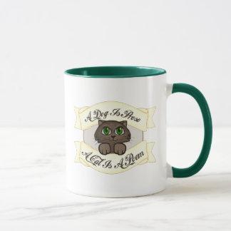A Cat is A Poem Mug