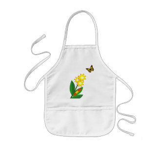 A Caterpillars Life Kids Apron
