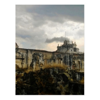A cathedral in ruins (Guatemala) Postcard