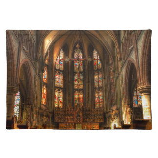 A cathedral placemats