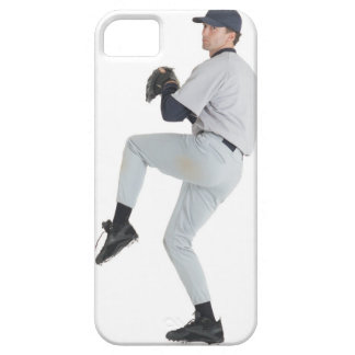 a caucasian man wearing a white baseball uniform iPhone 5 cover