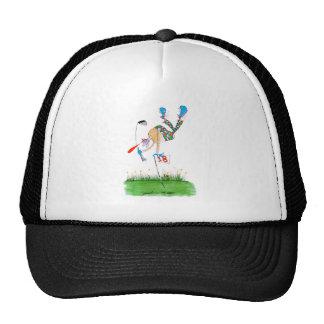 a celebration - golf, tony fernandes cap