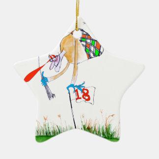 a celebration - golf, tony fernandes ceramic star decoration