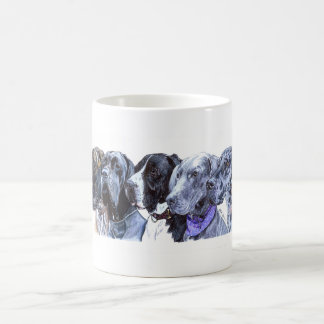 A Celebration of Great Danes Coffee Mug