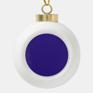 a ceramic ball christmas ornament