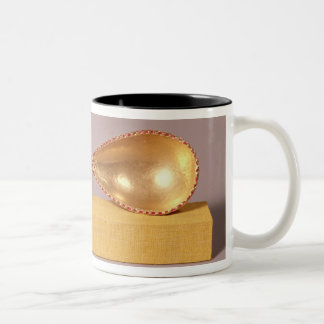 A ceremonial spoon Two-Tone coffee mug