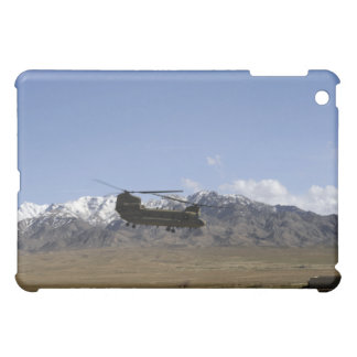 A CH-47 Chinook takes off Cover For The iPad Mini