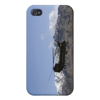 A CH-47 Chinook takes off iPhone 4 Cover