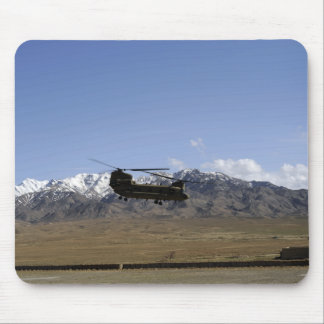 A CH-47 Chinook takes off Mouse Mat