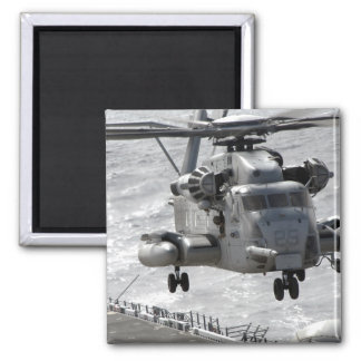 A CH-53E Super Stallion helicopter Magnet