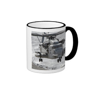 A CH-53E Super Stallion helicopter Mugs