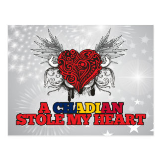 A Chadian Stole my Heart Postcard