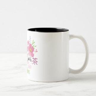 A Chai Cup! Two-Tone Coffee Mug