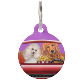 A Chance for Romance Pet Name Tag