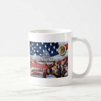 A Change Has Come - The 2009 Obama Inaugural Basic White Mug