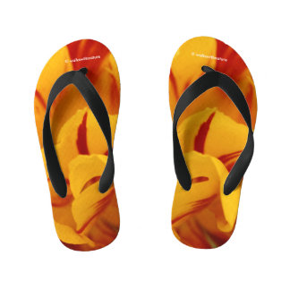 A Chaos of Red and Yellow: Triandrus Daffodils Flip Flops