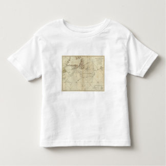 A Chart Of The Banks Of Newfoundland Toddler T-Shirt