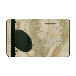 A Chart of the Chesapeake And Delaware Bays iPad Case
