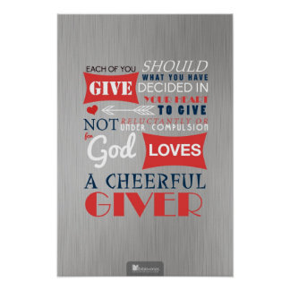 A Cheerful Giver Poster