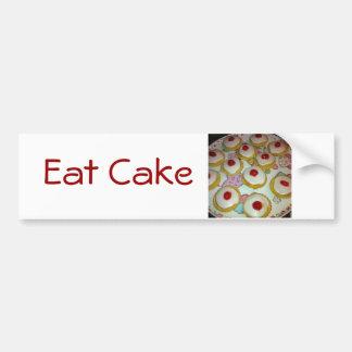A Cherry Bakewell Tart Bumper Sticker