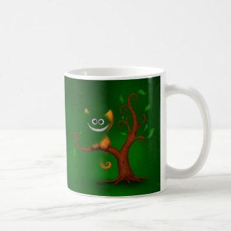 A Cheshire Kitten (Disappearing) Basic White Mug
