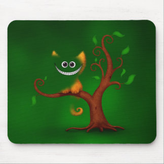 A Cheshire Kitten (Disappearing) Mouse Mat
