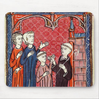A Child Brought to a Monastery by his Parents Mouse Pad