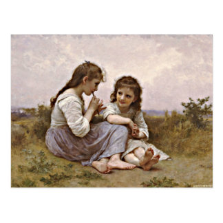 A Childhood Idyll artwork Postcard