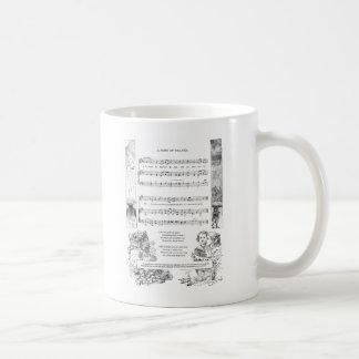 A Child's Song of Thanks Basic White Mug