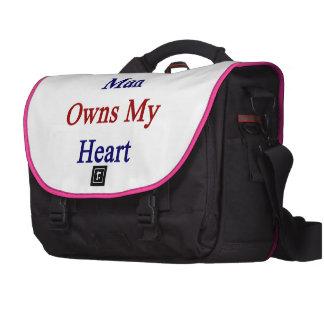 A Chilean Man Owns My Heart Laptop Bag