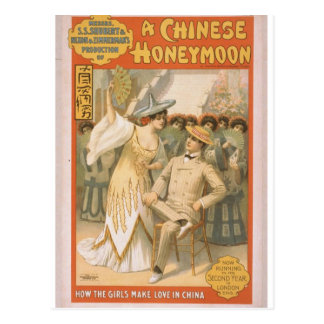 A Chinese Honeymoon Postcard