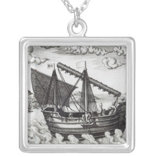 A Chinese Junk Silver Plated Necklace