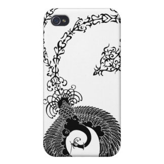 a Chinese phoenix has a lotus 鳳凰蓮 iPhone 4 Cases