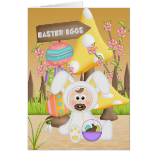 A Chocolate Easter Greeting Card
