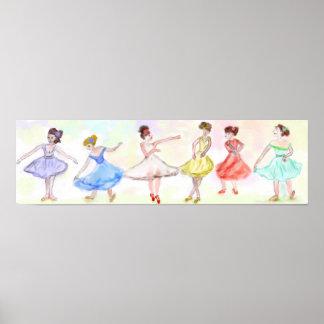 A Chorus Line-In Ballet Print