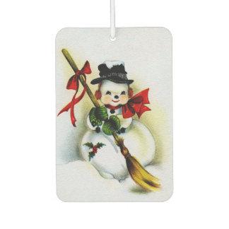 A CHRISTMAS CARD MOMENT: THE SNOWMAN ~~