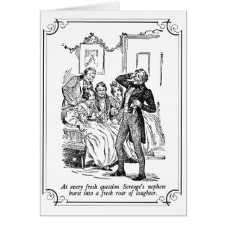 A Christmas Carol: A Fresh Roar Of Laughter Card