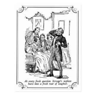 A Christmas Carol: A Fresh Roar Of Laughter Postcard
