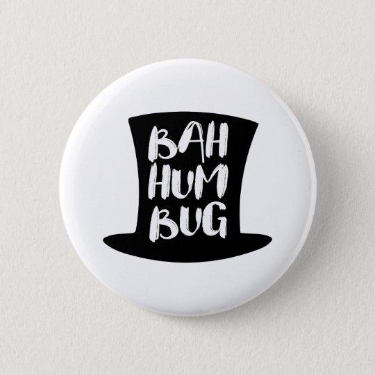 A Christmas Carol Bah Humbug Holiday Round Button