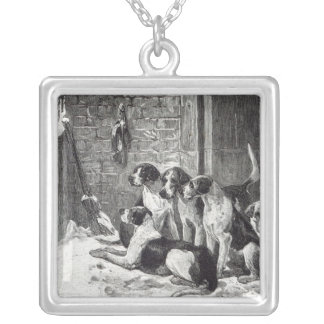 A Christmas Carol, from 'Leisure Hour', 1888 Silver Plated Necklace