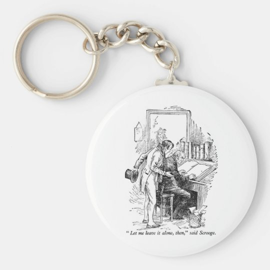 A Christmas Carol Key Ring
