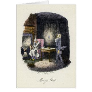 A Christmas Carol - Marley's Ghost Card