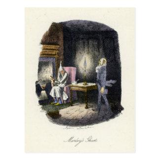 A Christmas Carol - Marley's Ghost Postcards