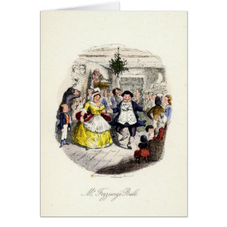 A Christmas Carol - Mr Fezziwigs' Ball Card