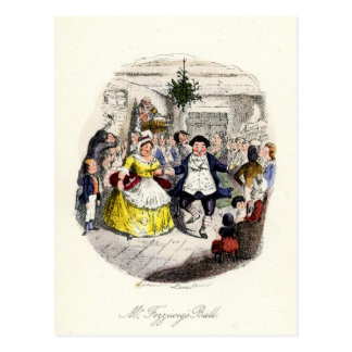 A Christmas Carol - Mr Fezziwigs' Ball Postcard